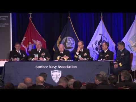 Shipbuilding Panel at Surface Navy 2016