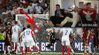 REACTING TO ENGLAND VS RUSSIA EURO 2016
