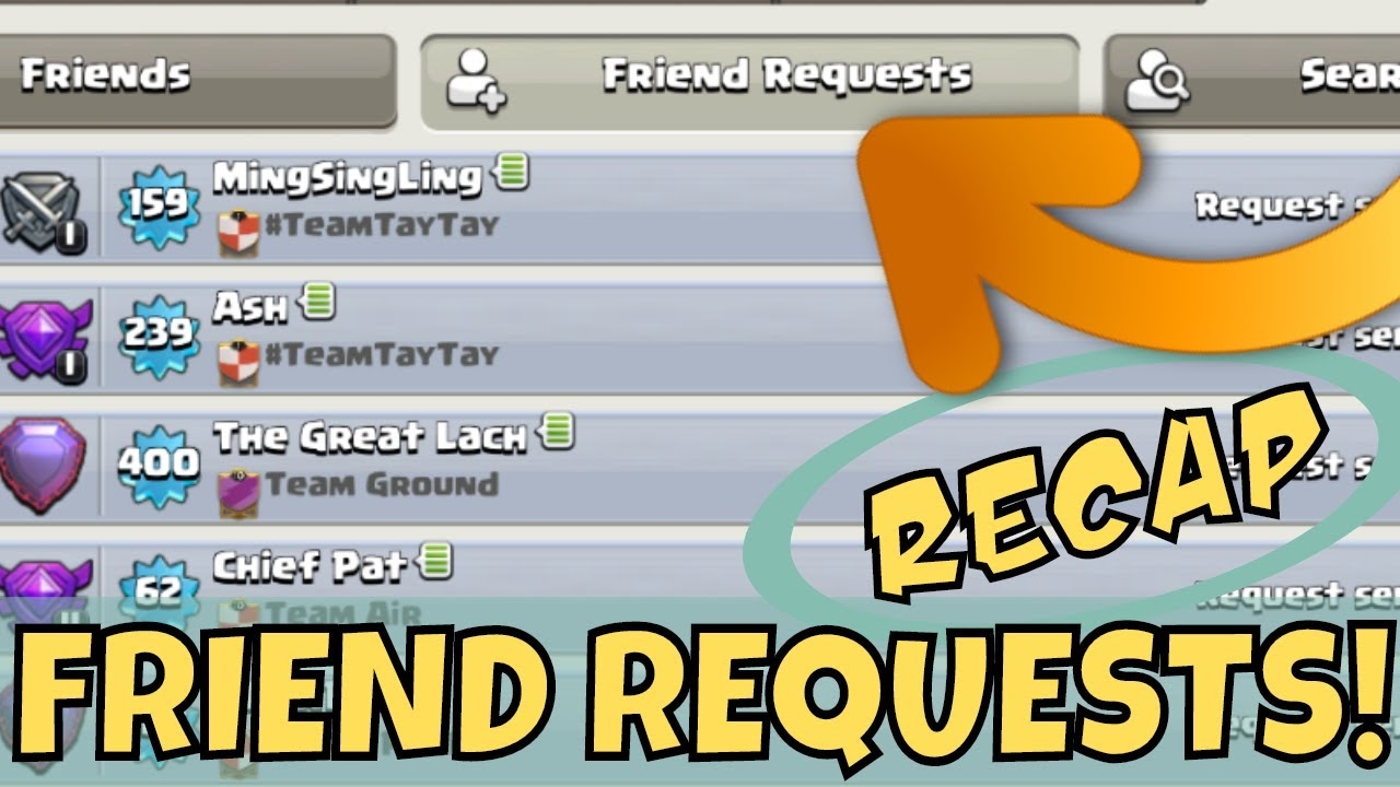 Download Clash Of Clans Update : FRIEND REQUESTS, RECAP & Q&A!