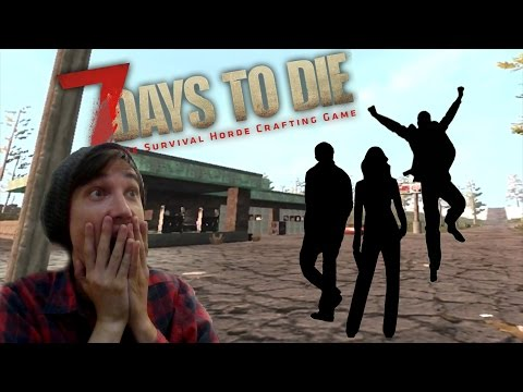 NEW SURVIVORS!!  7 Days to Die Co-op #2