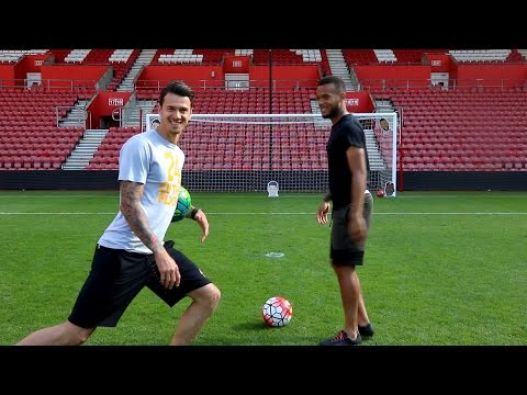 HIT THE TARGETS CHALLENGE!!! w/ Ryan Bertrand and José Fonte!!!
