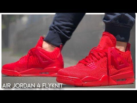 meet 0610b 3cedd Air Jordan 4 Flyknit | Review - YouTube
