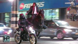 Keanu Reeves Doing His Own Badass Stunt Work for 'John Wick 3