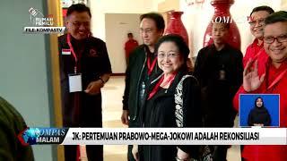 JK: Pertemuan Prabowo-Megawati-Jokowi Adalah Rekonsiliasi