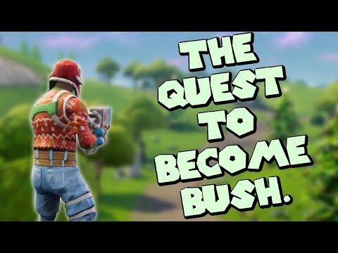 Fortnite Livestream: Perfecting The Art Of Bush.