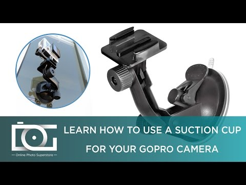 GOPRO ACCESSORIES - SUCTION CUP | Suction Cup Mount for GoPro Hero4, Hero3+, Hero3, Hero2