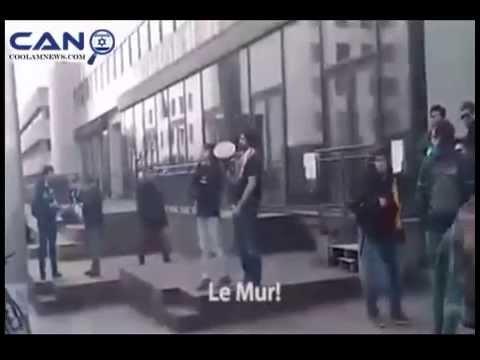 BDS insulte les étudiants juifs sur le campus de l'Université Libre de Bruxelles