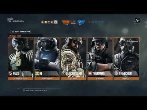 Rainbow Six Siege Ranked US Servers