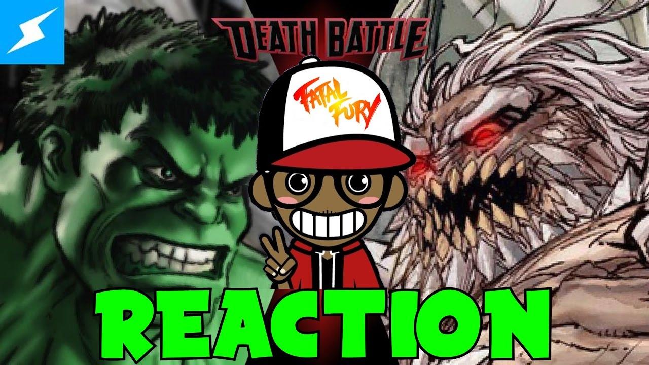 HULK vs DOOMSDAY!!! | DEATH BATTLE Reaction - YouTube Doomsday Vs Hulk Death Battle Reaction