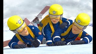 New Fireman Sam 🌟A Snowy New Years Rescue! 🔥 ❄️Winter Special 🎄🔥Children's Cartoons