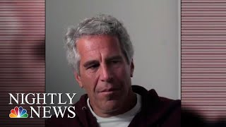 Jeffrey Epstein's Will Filed In Virgin Islands Before His Death | NBC Nightly News