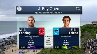 2016 J-Bay Open: Quarterfinals, Heat 4