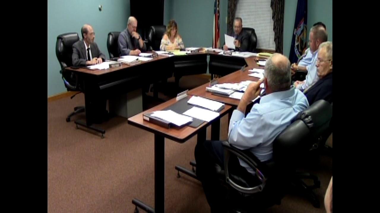 Champlain Town Board Meeting  10-10-17
