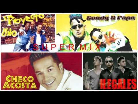 mix Proyecto Uno, Ilegales, Sandy y Papo, etc.Merengue hip hop