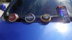 The difference between Meguiar's Cleaner Wax, Gold Class, Tech Wax 2.0, and Ultimate. Comparison.