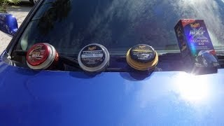 The difference between Meguiars Cleaner Wax Gold Class Tech Wax 20 and Ultimate Comparison