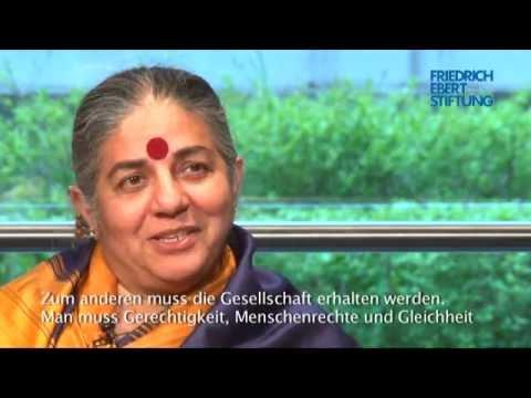 Nachhaltigkeit RE-LOADED? Vandana Shiva im Gespräch