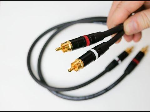 Как сделать аудиофильский кабель за 5 минут?