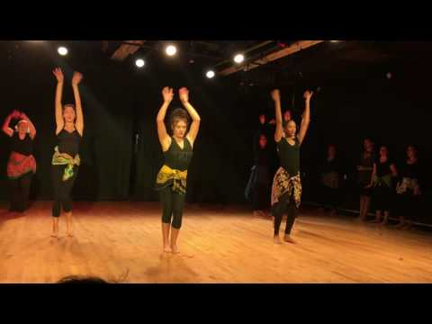 West African Dance Final Show Case-Penn State University 2015
