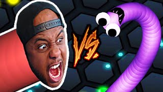 SNAKE VS SNAKE! | Slither.io