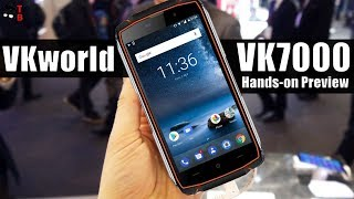 VKworld VK7000 Hands-on Preview: Cheap Rugged Phone + Wireless Charger