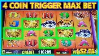 THIS DID NOT JUST HAPPEN! 4 COIN BONUS TRIGGER $1800 FREE PLAY INTO PROFIT BUFFALO MAX ( S2 – Ep6 )