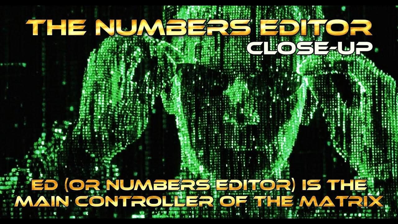 Ed - The Matrix Numbers Editor - Close-up on Secchi Cor2-A ...