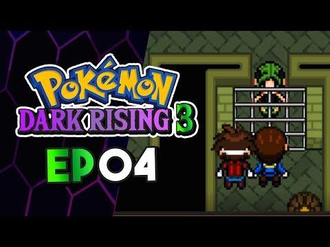 Pokemon Dark Rising 3 Part 4 YOUTUBERS IN PRISON! Pokemon Fan Game Gameplay Walkthrough