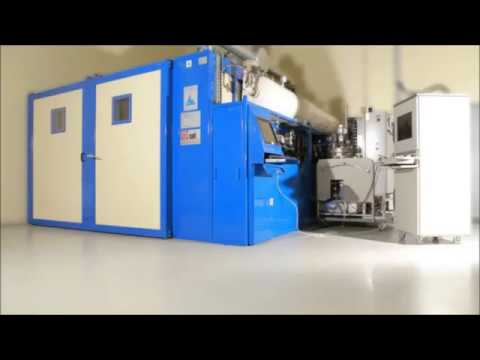 Resin infused curing oven - aerospace industry - SAT THERMIQUE