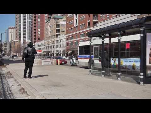 Riding the Red Line: The Roosevelt station in Chicago's South Loop