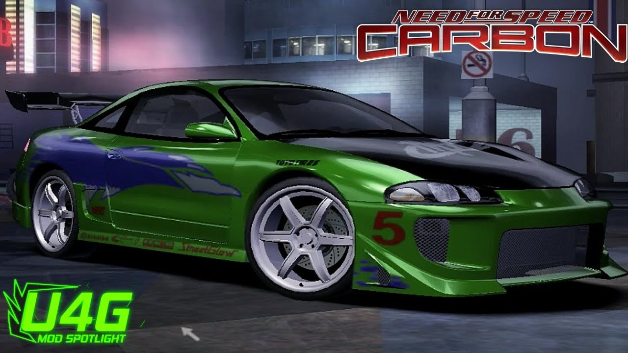 fast and furious mitsubishi eclipse gsx need for speed carbon mod spotlight youtube. Black Bedroom Furniture Sets. Home Design Ideas