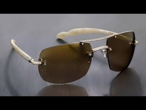 771e42bd5c0 Top 7 Most Expensive Sunglasses Brands - YouTube