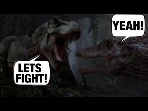 What If Dinosaurs Could Talk In Jurassic Park 3 |