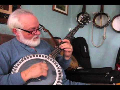 Tuning a banjo and adjusting the bridge placement