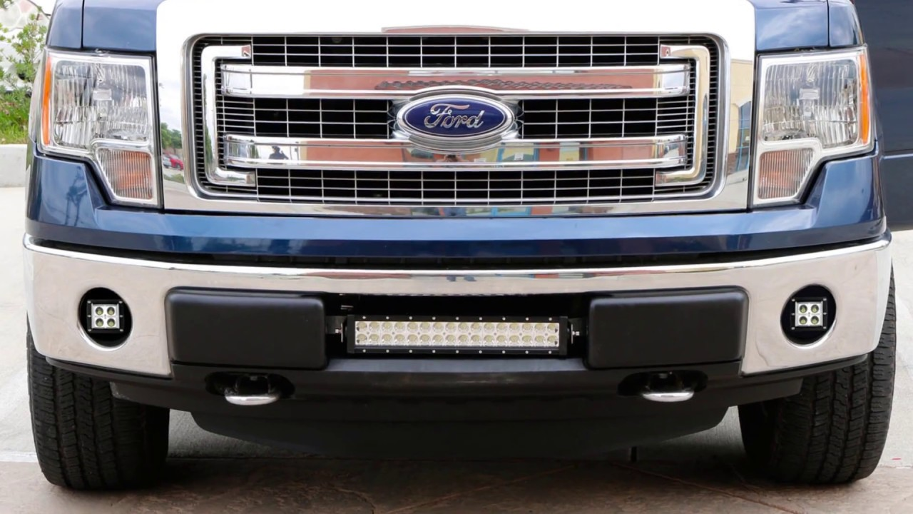 Ijdmtoy Led Fog Light Kit For 2006 2014 Ford F 150 Install