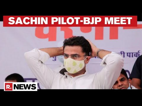 Sachin Pilot Meets Top BJP leader, Inside Details Accessed