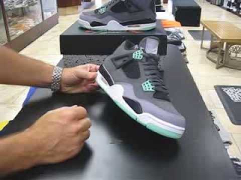 the latest b7bc8 06647 Nike Air Jordan Green Glow - at Street Gear, Hempstead NY