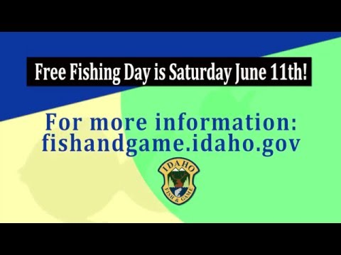 Free fishing day is june 11 2016 youtube for One day fishing license ca