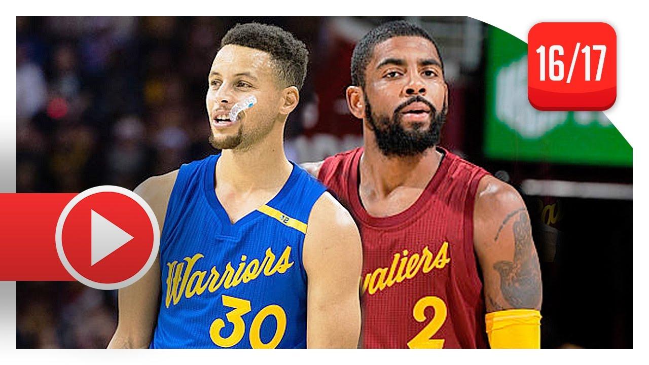 timeless design 03e49 a6ea3 Kyrie Irving vs Stephen Curry PG Christmas Duel Highlights (2016.12.25) -  Warriors vs Cavs