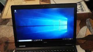 Notebook Dell Latitude E5550 i7 16 GB RAM Disco Sólido