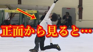 羽生結弦のOriginフィニッシュポーズは正面から見るとこうなる!!王者も思わず試したくなる超一流のセンスがこちら!!#yuzuruhanyu 羽生結弦 検索動画 3