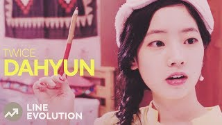 TWICE - DAHYUN (Line Evolution) • APR/2018
