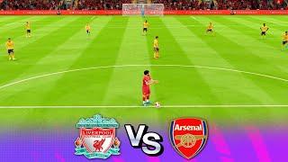 Liverpool v Arsenal Premier League FIFA 20 Survival Prediction