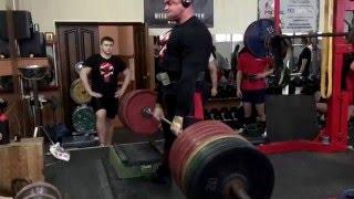 Становая тяга - 420 кг (плинты +15 см)