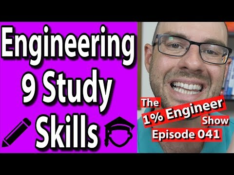 How To Engineering Study | Engineering Study Skills | Engine