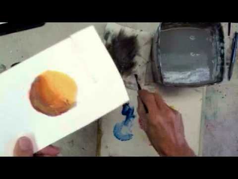 lesson 15 egg tempera and watercolor stan miller youtube