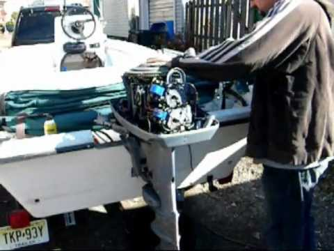 How To Winterize Your Evinrude Johnson Outboard Easy