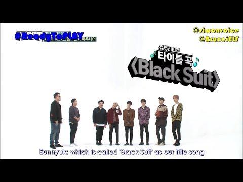 [ENGSUB] 171108 MBC Weekly Idol EP328 - how Super Junior introduce Black Suit