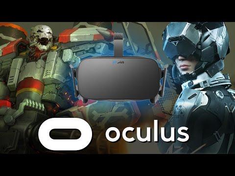 Oculus Rift Launch (Airmech, Lucky's Tale, Eve Valkyrie, ADRIFT)