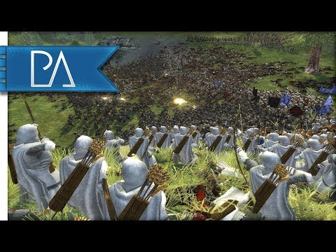 SURROUNDED BY 18k ORCS! - Lord of the Rings - Third Age Total War Reforged